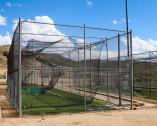 Rete per tunnel allenamento baseball