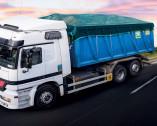 Teli e reti di copertura per camion
